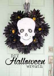Diy Halloween Lights by Craftaholics Anonymous Diy Halloween Skull Marquee Wreath