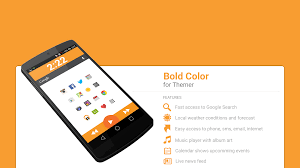 bold color theme android apps on google play