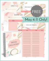 home planner free download minimalist design you can a printable