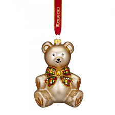 Marquis By Waterford Christmas Ornaments 2017 Nostalgic Baby U0027s First Teddy Bear Ornament Waterford Holiday