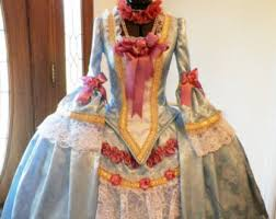 Halloween Ball Gowns Costumes French 1700s Ball Gowns Masquerade Versailles Ball Mardi
