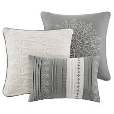 Black And White Paisley Duvet Cover Devin Medallion Paisley Duvet Cover Set Gray 6pc Target