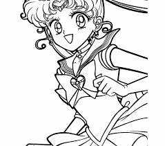 coloring kids sailor moon coloring pages collection