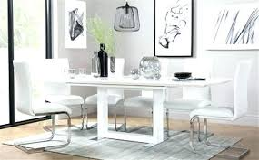 High Gloss Extending Dining Table Extending Dining Table Sets Aciarreview Info