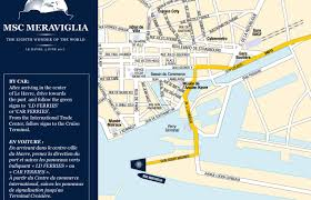 Le Havre France Map by Msc Meraviglia Cruise Bookings 2017 2018 2019