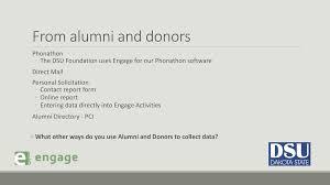 alumni directory software whose data is it anyway jona schmidt director of alumni