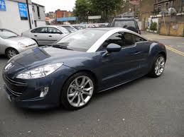 peugeot coupe rcz used peugeot rcz coupe 1 6 thp gt 2dr in london greater london