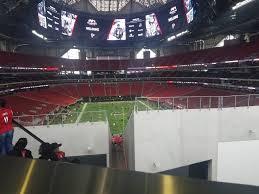 mercedes benz stadium standing room only rateyourseats com