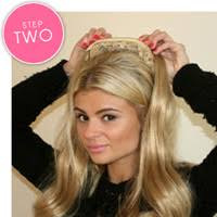 hair attached headbands uk mid length 3 4 wig with soft black attached headband 3 4 fall