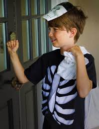 Skeleton Halloween Costume Kids Diy Halloween Costumes For Kids Fiskars