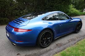 blue porsche 911 certified pre owned 2015 porsche 911 carrera 4