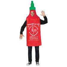 Softball Halloween Costumes Sriracha Halloween Costume Walmart