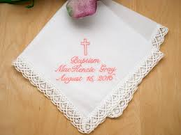 up to 3 lines hankie w cross font s