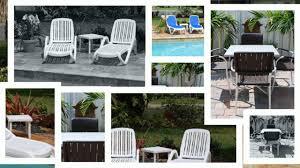 Outdoor Patio Furniture Miami by Pool Furniture Miami Tropic Patio Youtube