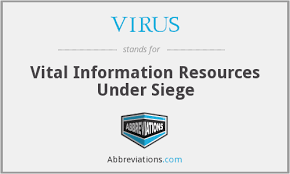 what is the meaning of siege what does virus stand for