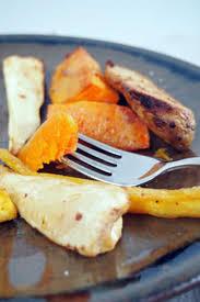 cuisiner les l馮umes anciens recette légumes anciens rôtis à la moutarde au miel et aux épices
