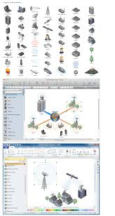 network layout floor plans using remote networking diagrams