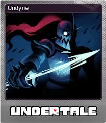 undertale undyne steam trading cards wiki fandom powered by