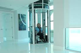 vacuum elevator pve wheelchair accessible home lift building
