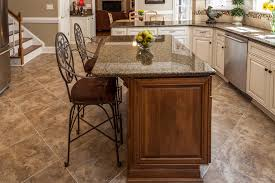kitchen island counter height tropical brown granite kitchen traditional with counter height