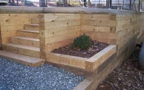Timber Retaining Wall Designs How To Build A Wooden Retaining - Timber retaining wall design