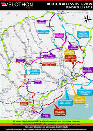 Where Is Wales On The Map Wales Velothon 2017 Torfaen County Borough Council