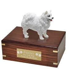 american eskimo dog black wholesale pet cremation wood urns american eskimo