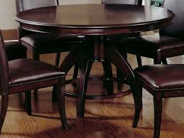 Round Dining Room Table With Leaf by Dining Tables Dining Room Tables Sets 52 Round Pedestal Dining