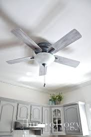 ceiling fan with grey blades gray ceiling fan stylish best coldbrook before and after an outdated