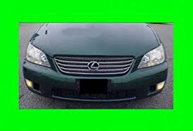 lexus is 300 kit amazon com 2001 2005 lexus is300 is 300 chrome grill grille kit