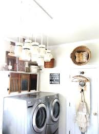 Country Laundry Room Decorating Ideas by Best Country Laundry Room Ideas With Tall Wooden Cabinets