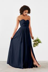 navy blue bridesmaids dresses wedding fashion and bridal accessories weddington way