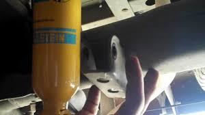 lexus ls430 bilstein shocks replacement rear youtube