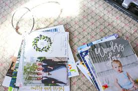 diy make a photo book with christmas cards being bridget