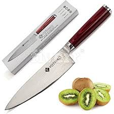 japanese damascus kitchen knives amazon com japanese damascus steel chef knife 8 inch razor