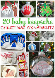baby keepsake ornaments 20 ornaments for baby s christmas keepsakes