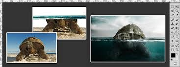 designcrowd tutorial how to create a partial submersion effect photoshop tutorial