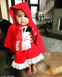 Toddler Lamb Halloween Costume Coco Austin U0027s Lamb Chanel Chrissy Teigen U0027s Hula