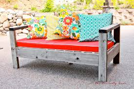 Ana White Storage Sofa by Ana White Outdoor Sofa From Reclaimed Wood Diy Projects