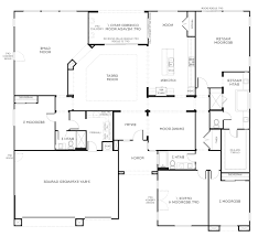 House Plans Single Level by Island Hampton Single Storey Floor Plan Wasingle Story Plans With