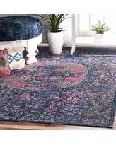 Navy Runner Rug Fall Into These Black Friday Savings Nuloom Vintage Floral