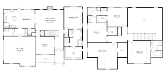 the peony floor plan cameron pointe danric homes