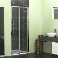 showerlux linea touch bifold shower door 760mm