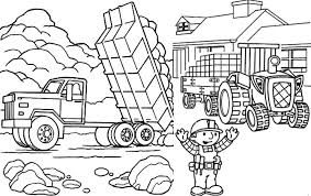 dump truck coloring pages getcoloringpages com