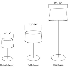 l shades by size frequently asked questions shades l shade size guide lighting