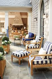 Outdoor Patio Furniture Cushions 7 Ways To Decorate Outdoor Spaces With Stripes How To Decorate