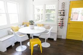 White And Yellow Kitchen Our Kitchen Diy Remodel Jana Marie
