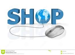 Home Internet by Buy Online Internet Shopping Shop At Home Royalty Free Stock Image
