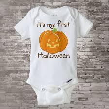 baby halloween shirt baby u0027s first halloween onesie or shirt 1st