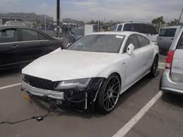damaged audi for sale buy used 2013 audi a7 3 0 prestige damaged repairable fixable